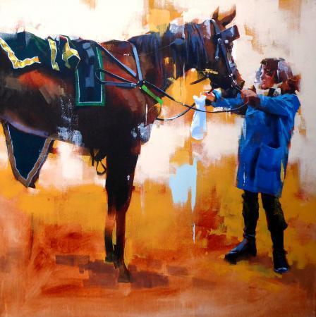 Yong-Man KWON - Leçon d'équitation