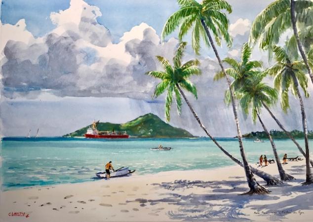 Guy LHOSTIS - 2017 Tahiti 4