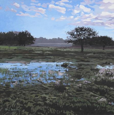 Jacques GODIN - 18 Mares bleues - Ile Tudy