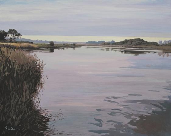 Jacques GODIN - 18 Matinale sur le polder