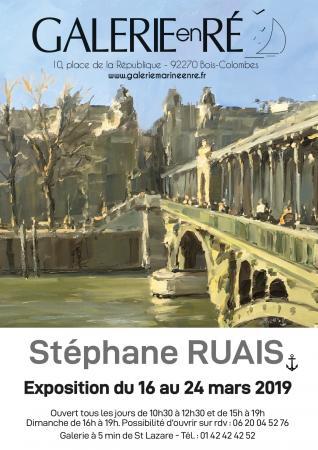 Stephane RUAIS - 19 affiche Pont Bir Hakeim