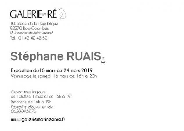 Stephane RUAIS - 19 Invitation texte Ruais