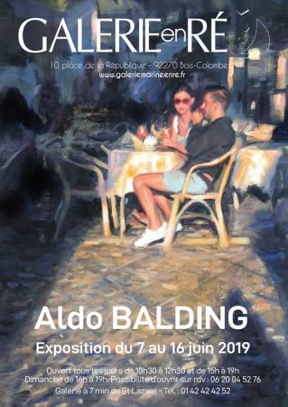 Aldo Balding - 19 Affiche