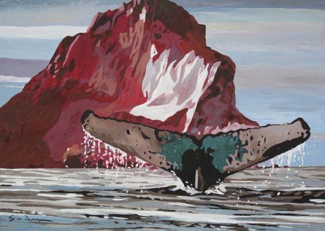 Jacques GODIN - 20P l'iceberg rouge