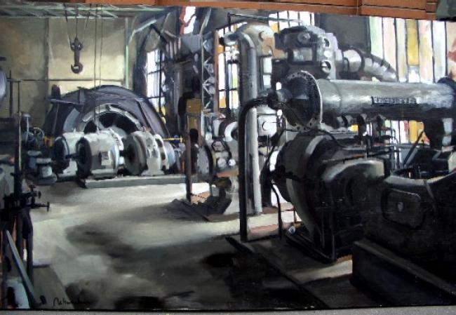Christoff DEBUSSCHERE - L'usine à Nyoisseau