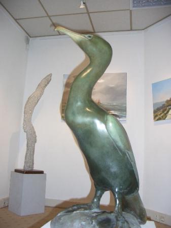Sylvie KOECHLIN - Algue  de S. Koechklin    Bronze de Lemonnier