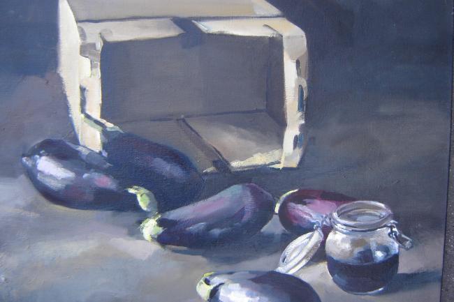 Christoff DEBUSSCHERE - Les aubergines