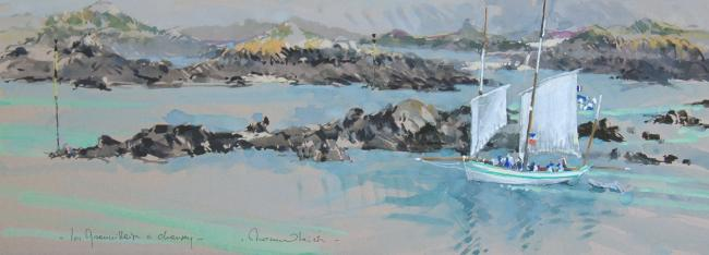 Ronan OLIER - La Granvillaise à Chausey    78X29