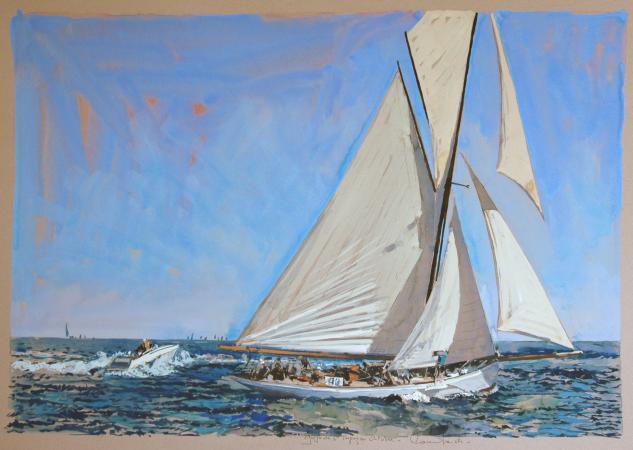 Ronan OLIER - Golfe de Saint Tropez en octobre     101X71