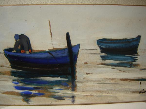 Olivier SUIRE-VERLEY - les barques