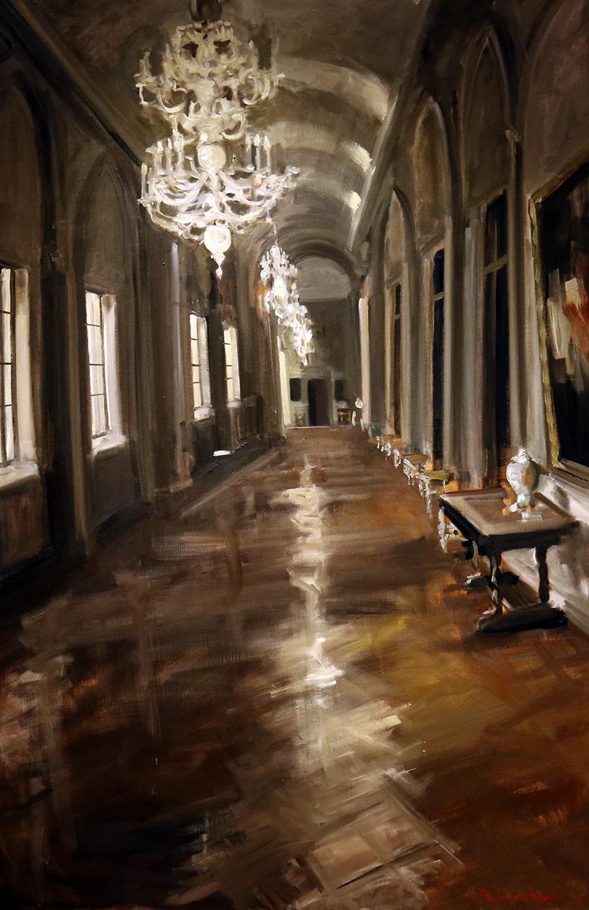 Christoff DEBUSSCHERE - 41 - Au palais Farez à Rome 2019 - 80P (146x97cm)