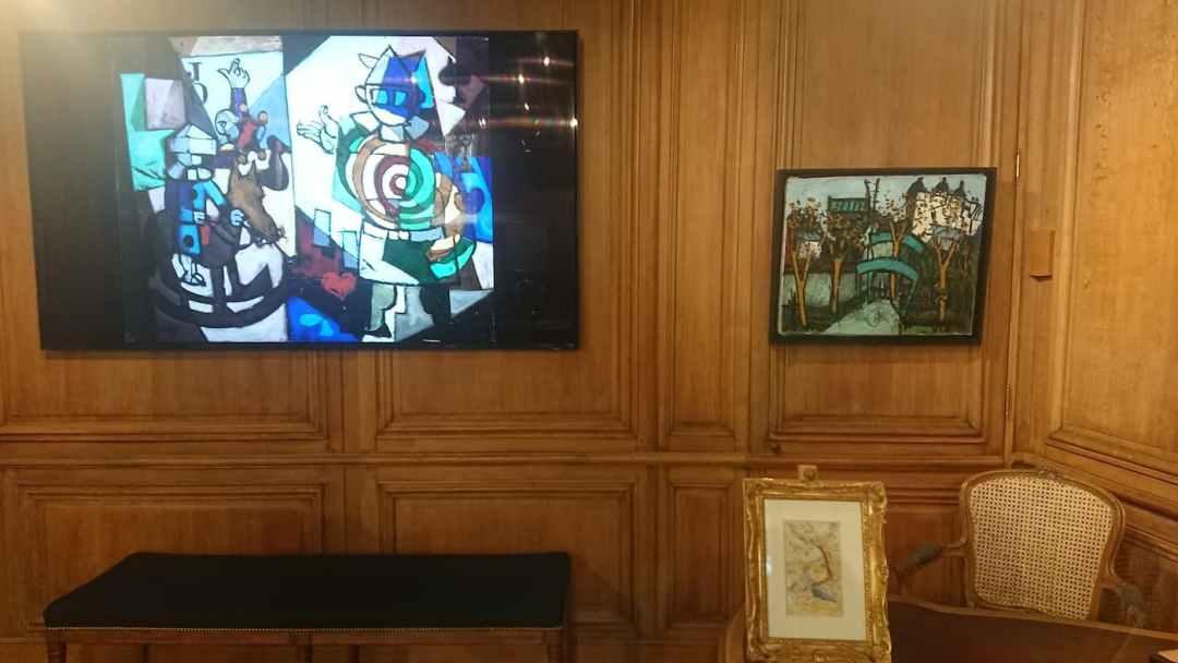 4. Claude VENARD | 53 x 65 cm - Henri-Edmond CROSS | 17,3 cm x 10,5 cm