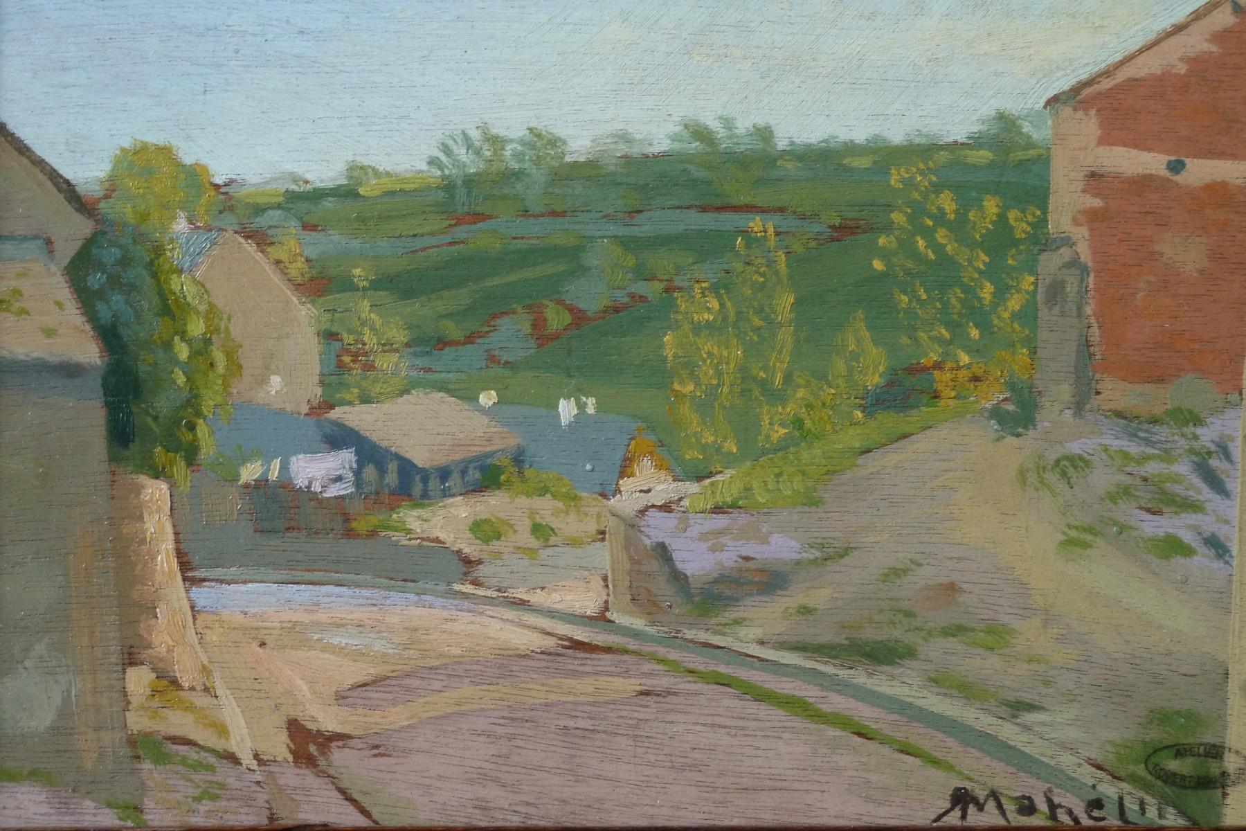 mahelin robert paul un des hameaux de saint illide cantal