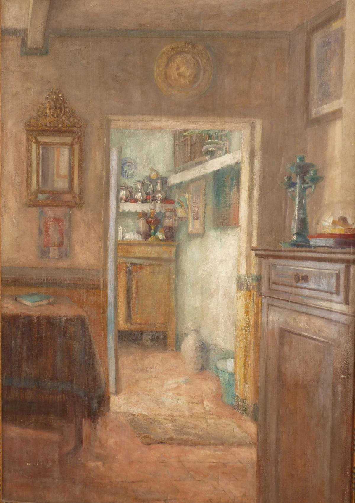 Stobbaerts Pieter Intérieur meublé