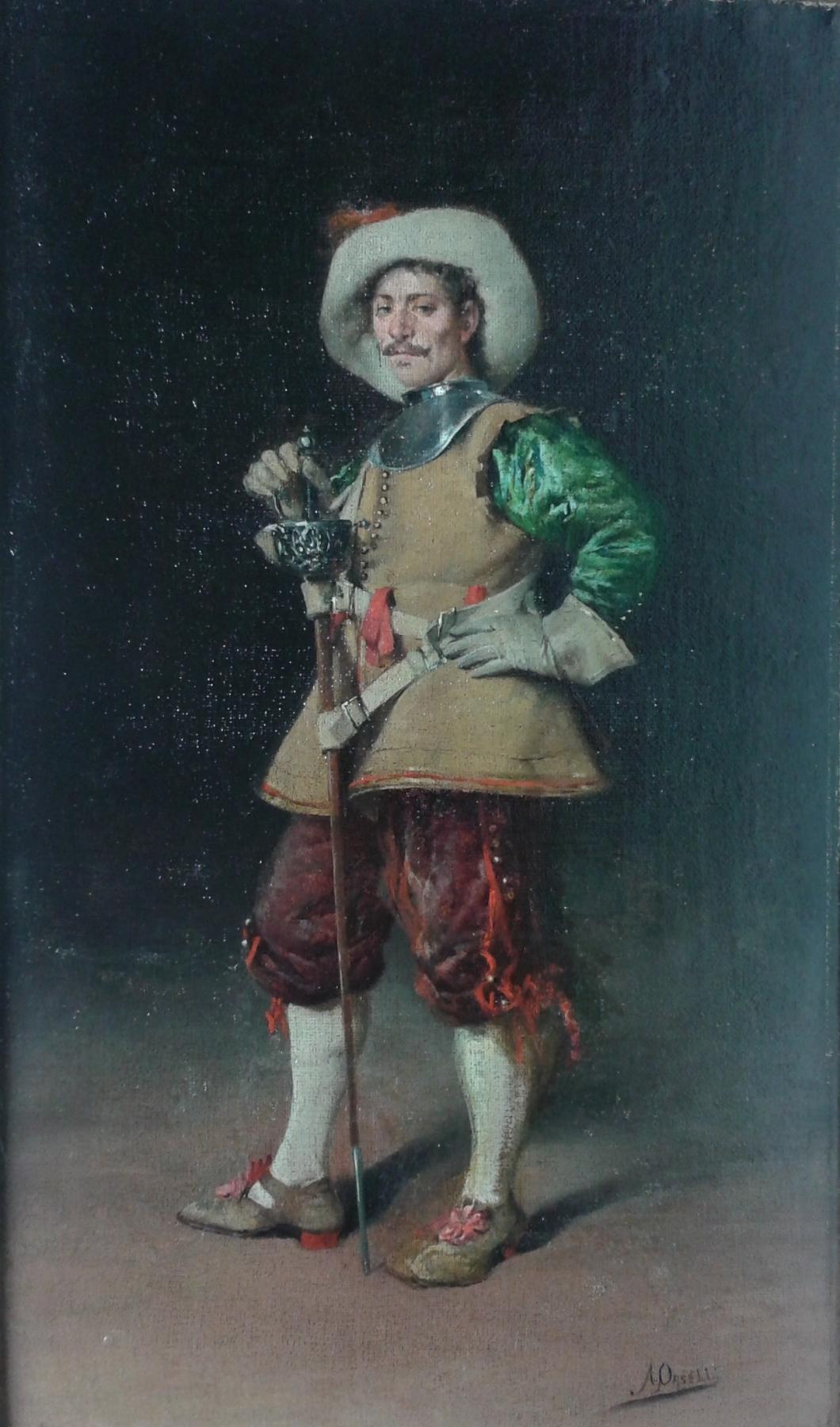arturo orselli gentilhomme à l'épée