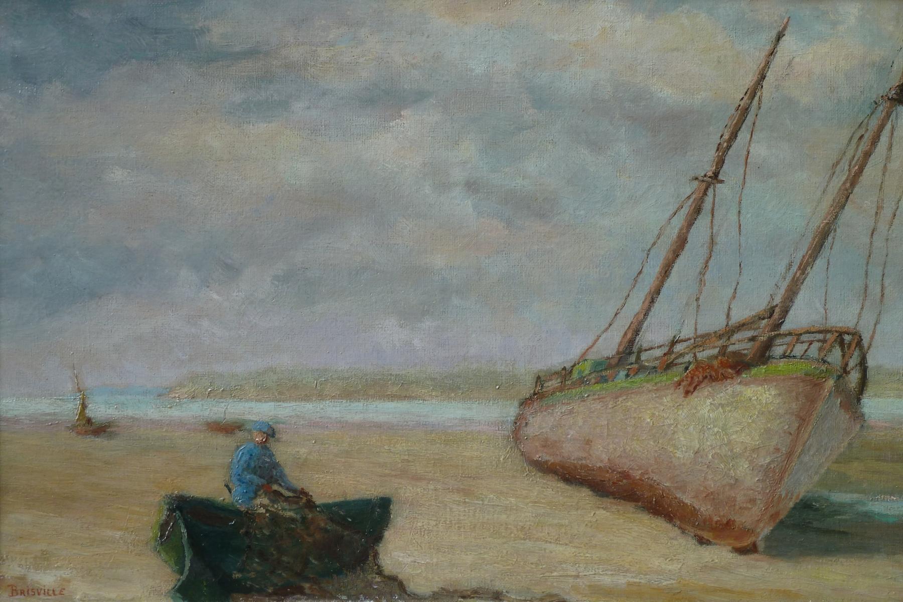Bateau en baie de Somme ou de la Canche