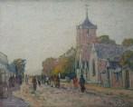 Village breton animé