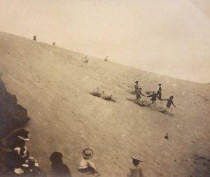 Grande dune de la plage des Grands Sables Le Pouldu