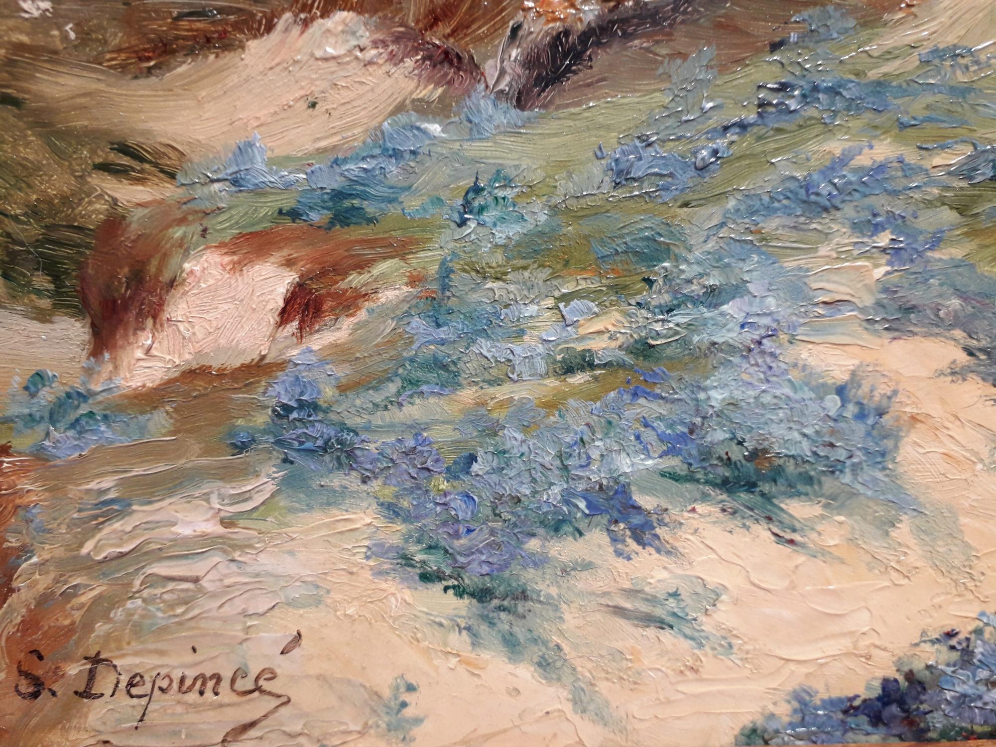 depince suzanne Chaumière d'Héléna village de Kerluron Le Pouldu signature