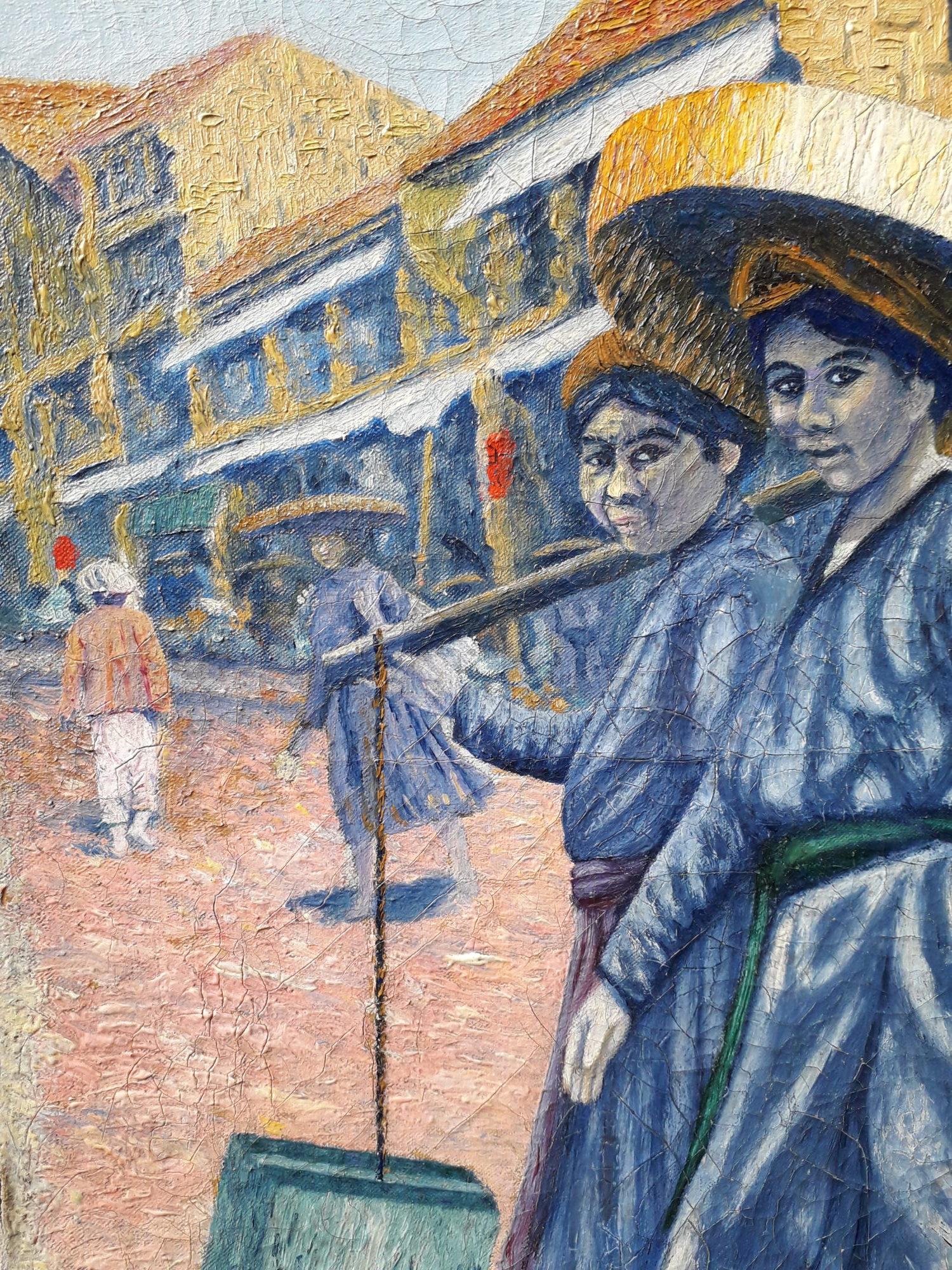 Les Tankas de Chine ou peuple Dan du Vietnam détail 1