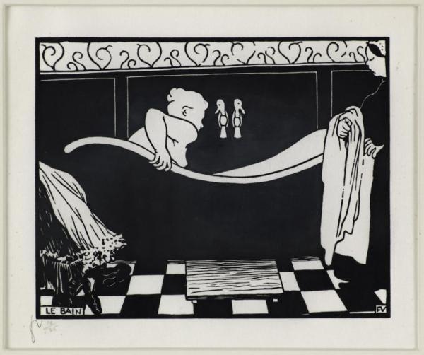 Lix Vallotton Le Bain Galerie Maximillian