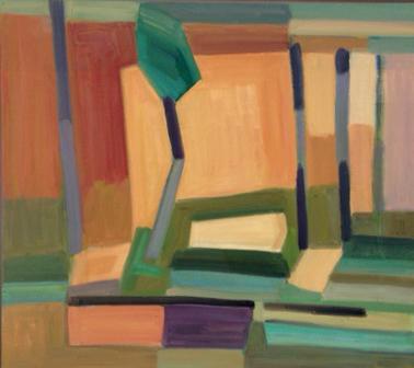 2017, Rasmussen, Roussillon, 80x90 cm, huile sur toile