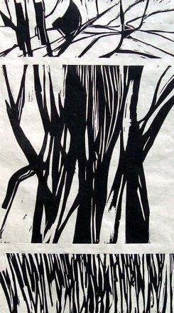 Granier, Gravure sur bois, Disponible à la réserve de la galerie