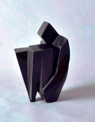 2013, Favre, Tête au carré, H26cm, Bronze, Disponible à la Réserve