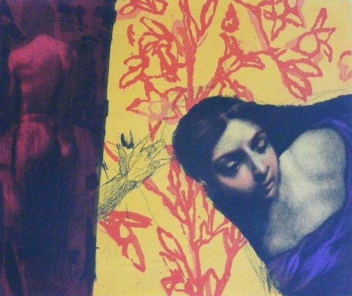2009, Mair, Douceur, Gravure couleur, 29x29 cm