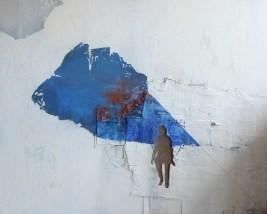 2011, Kosinska-Maslejak, Le large Wyplyn, Technique mixte, 150x190 cm, Disponible à la Réserve