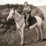 Portrait d'un homme à cheval
