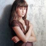 Portrait: Pénélope 24x18