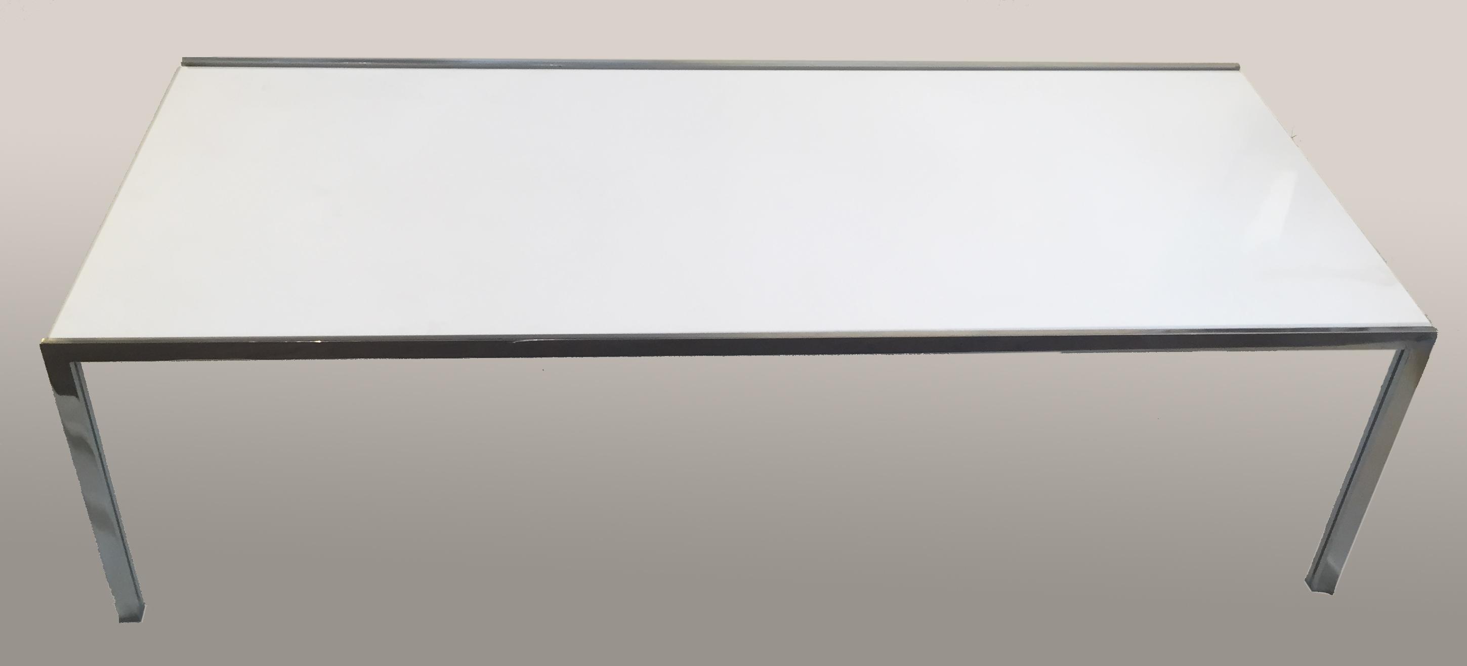 table basse knoll marbre