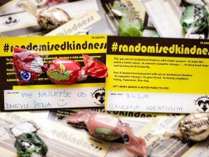 Randomisedkindness-naključna prijaznost, dobrodelna akcija