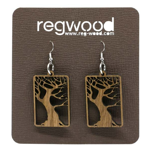 Leseni uhani drevo življenja