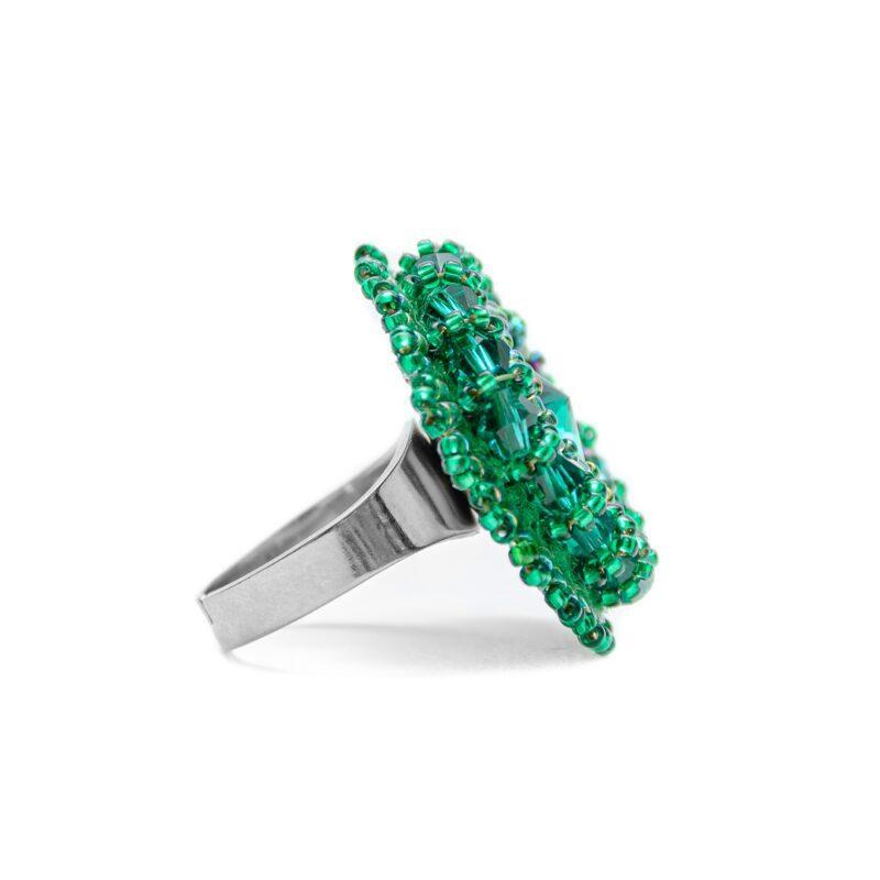prelest prstan zelen
