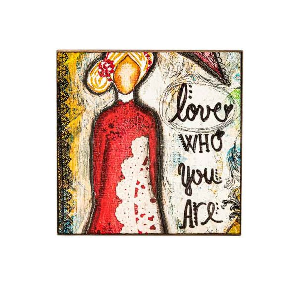 MAGNET LOVE WHO YOU ARE-LADY ART TALK