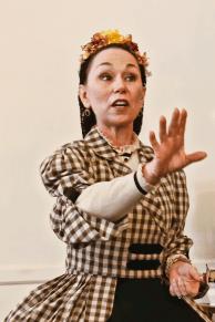 Debra Ann Miller as Mrs. Mary Lincoln