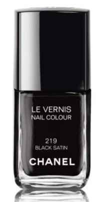 VERNIS BLACK SATIN CHANEL 23