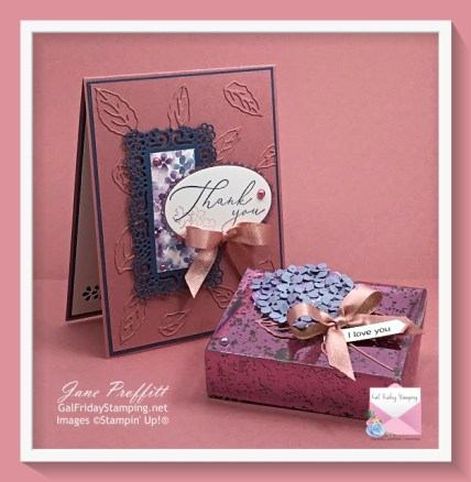 Hydrangea Hill Suite from Stampin' UP!  Released in the new 2021 Jan - June Mini Catalog