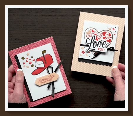 Create these adorable cards with the January Paper Pumpkin