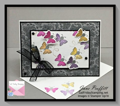 Sweet little butterflies from the Hippo Happiness bundle from Stampin' Up!