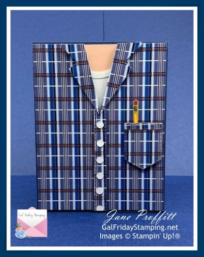 For the man in your life using the Well Suited Suite from Stampin' Up!