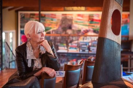 Galiano Inn's Hostess w/ The Mostess Conny Nordin