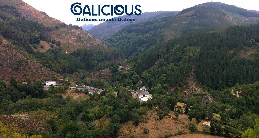 Os Baos, Ribeira de Piquín, Lugo