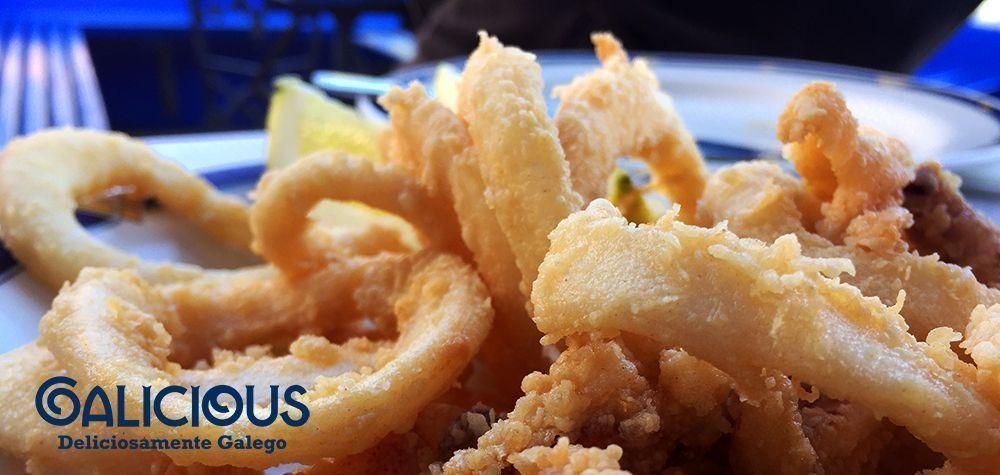 Calamares. Rte La Playa. Tazones