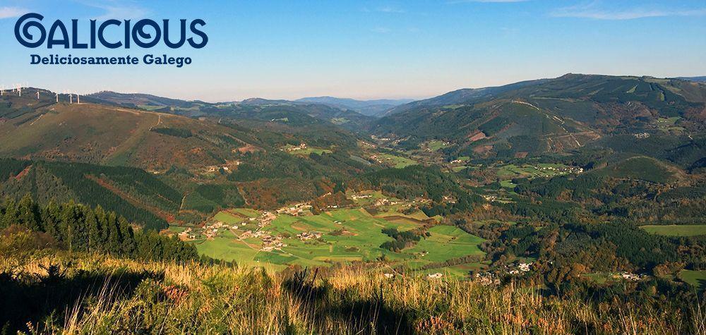 Mirador de Barangon ( Ribeira de Piquin, Lugo ) Foto de Galicious