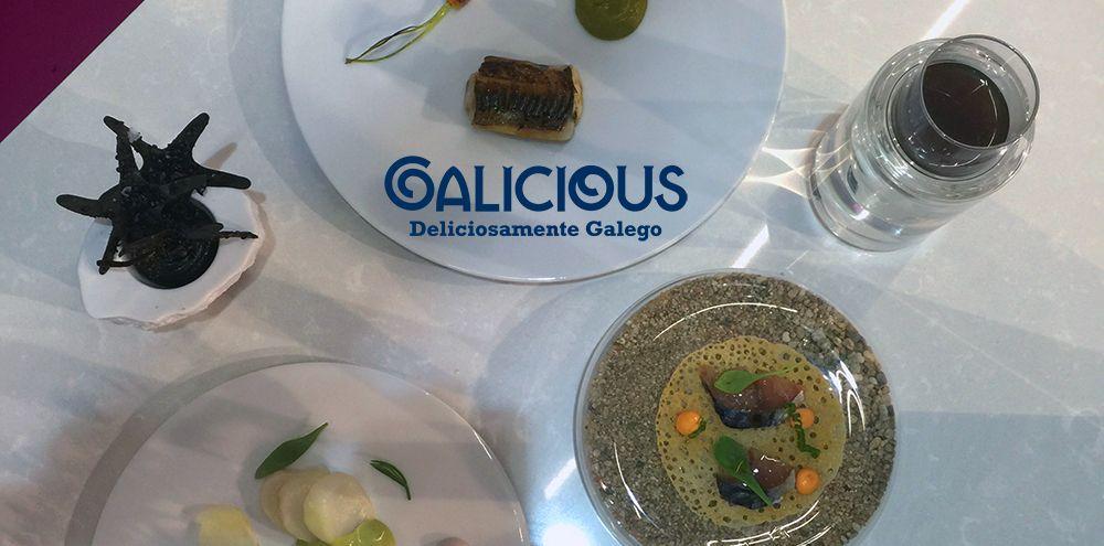 Showcoooking Ivan Dominguez en Alimentaria 2016 | Galicious