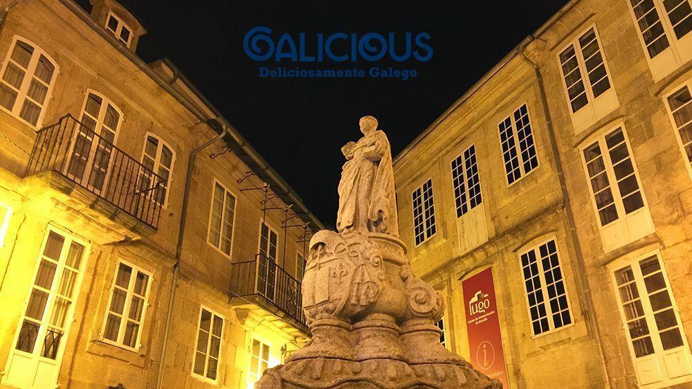 """Plaza do Campo , Lugo ( Foto de """"100 cosas imprescindibles que hacer en Galicia"""" ) By Galicious"""