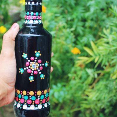Vintage style bottle